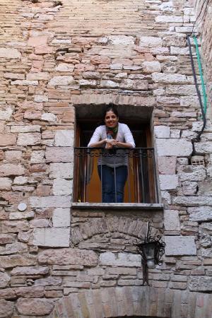 balcony - Picture of Hotel Lieto Soggiorno, Assisi - TripAdvisor