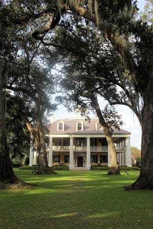 Darrow, LA: view of the house