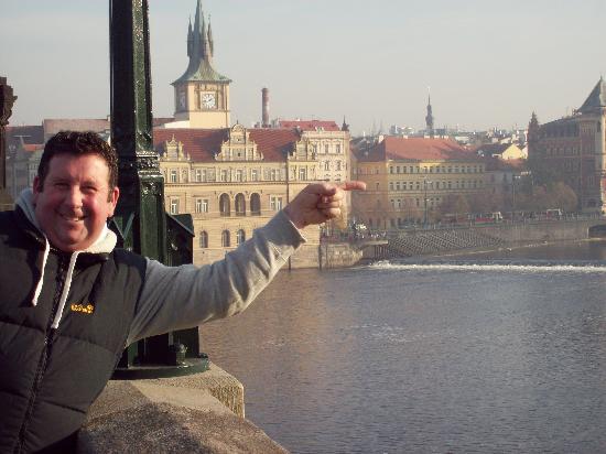 Smetana Hotel : finger on hotel