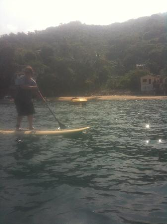 Casa Isabel: Paddle boarding near Playa Isabel