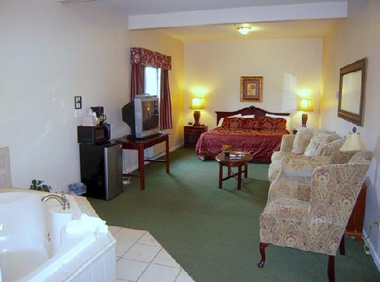 Golden Circle Inn & Suites: King Suite