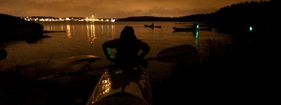 Southern Goteborg Archipelago: Night paddle for everyone