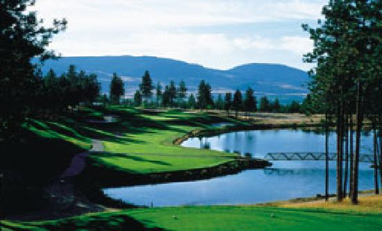 Okanagan Seasons Resort: Over 18 courses within half an hour