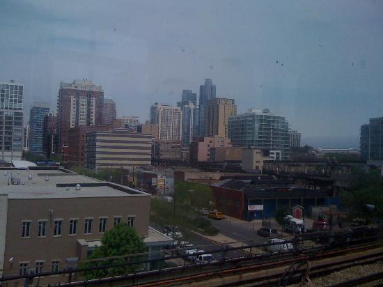 Hilton Garden Inn Chicago Midway Airport: skyline
