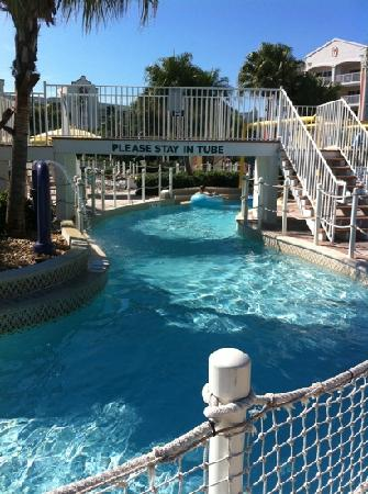 ‪‪Holiday Inn Club Vacations Cape Canaveral Beach Resort‬: lazy river‬