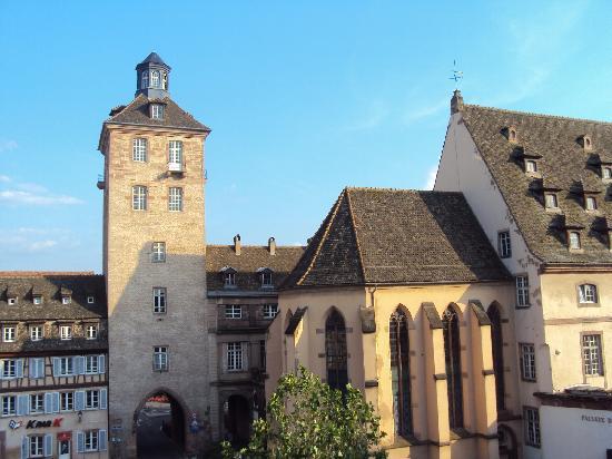 Logis Hôtel Au Cerf d'Or : torreon