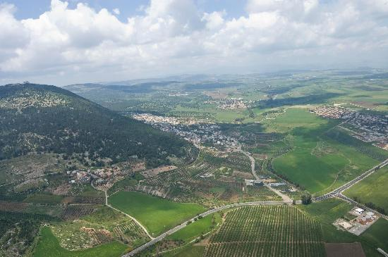 Israel Helicopter Tours: Gorgeous views!