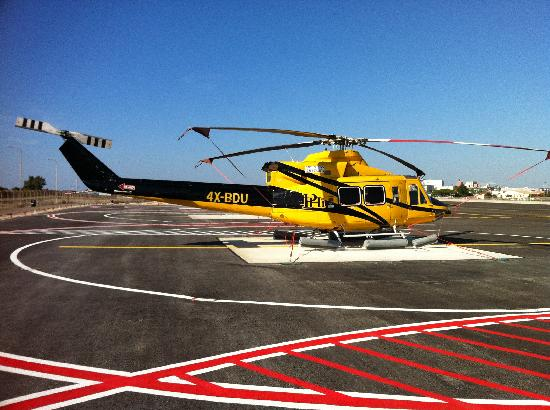 Israel Helicopter Tours: One of the 412s