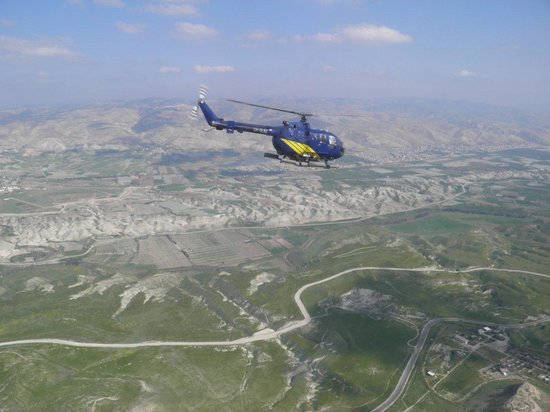 Israel Helicopter Tours: Be there!
