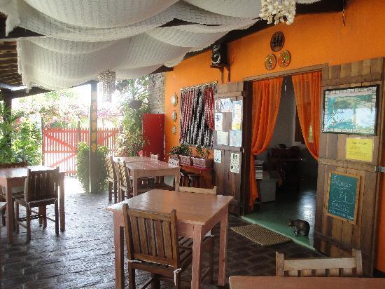 Pousada Papaya: varanda café