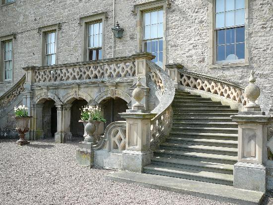 Floors Castle: Private staircase