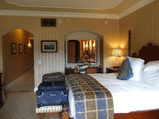 Fairmont Grand Del Mar: Spacious immaculate room