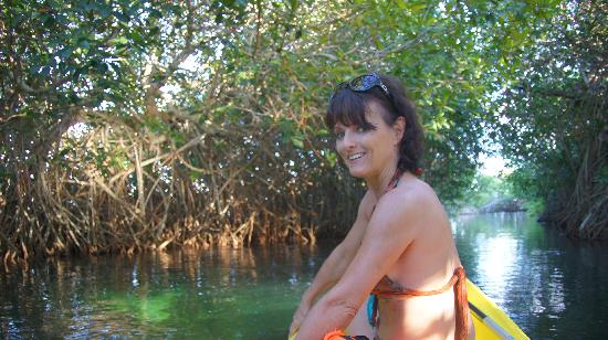 Hacienda Tres Rios: kayak sur la première riviere
