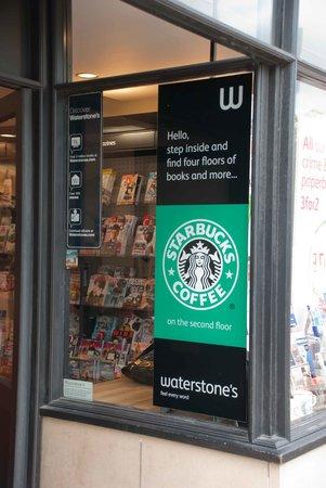 Starbucks Waterstones