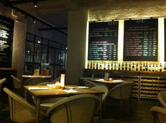 The interior design of the restaurant picture of koi for Interior design lasalle jakarta