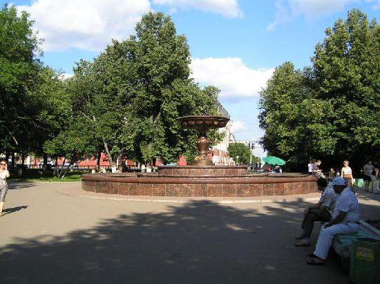 Theatre Square: Teatralnaya Square, Kirov