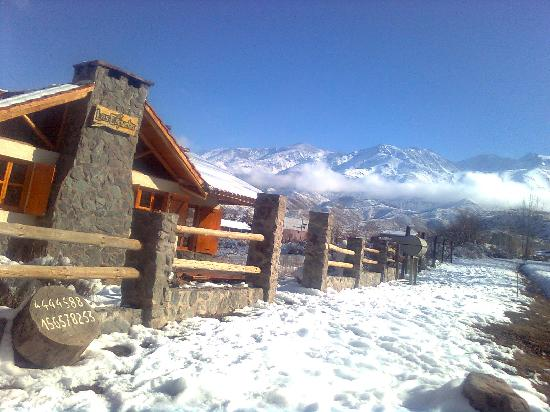 Las Espuelas Casas de Montaña: Nieve en Las Espuelas