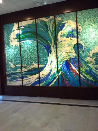 Seacoast Suites Hotel: Painting in the lobby