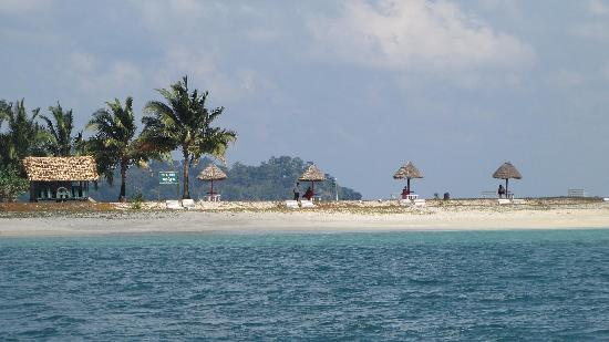 Diglipur, Indien: Ross & Smith Island(Twin Island connected with sand bar)