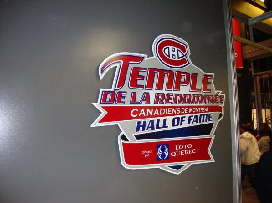 Montreal Canadiens Hall of Fame: Entrance to the Hall