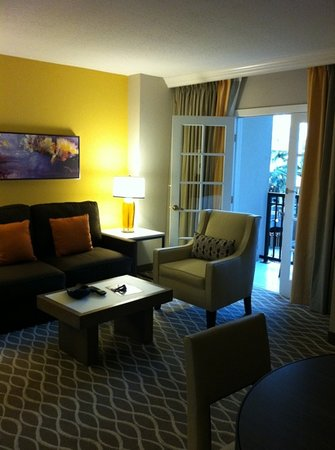 Gaylord Palms Resort & Convention Center: Our suite