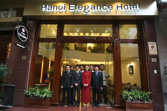 Hanoi Elegance Ruby - Entrance
