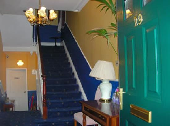 Victoria Court: You enter our spacious hall