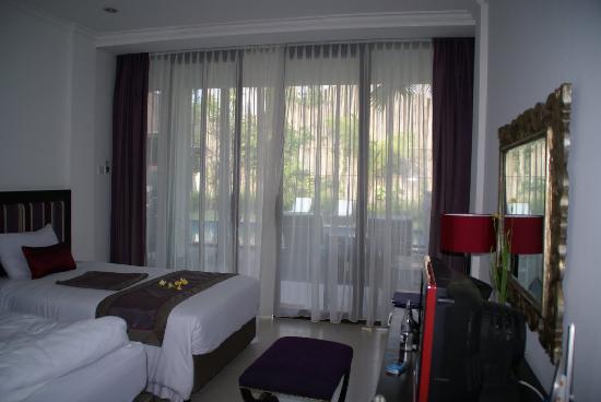 Puri Maharani Boutique Hotel & Spa: My room with pool terrace