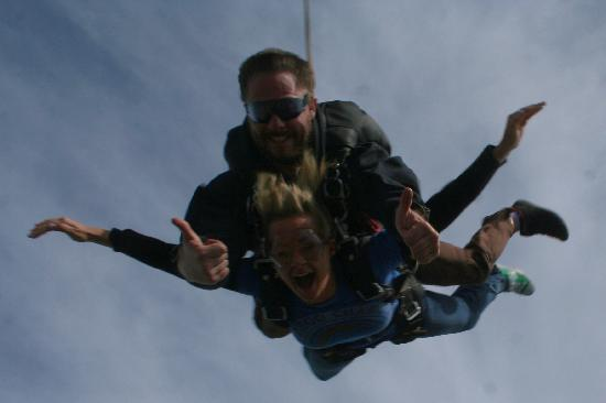 Skydive Cape Town: In the air