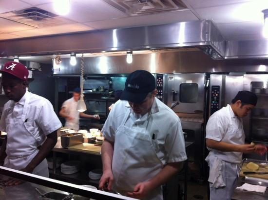 Bahama Breeze: open kitchen