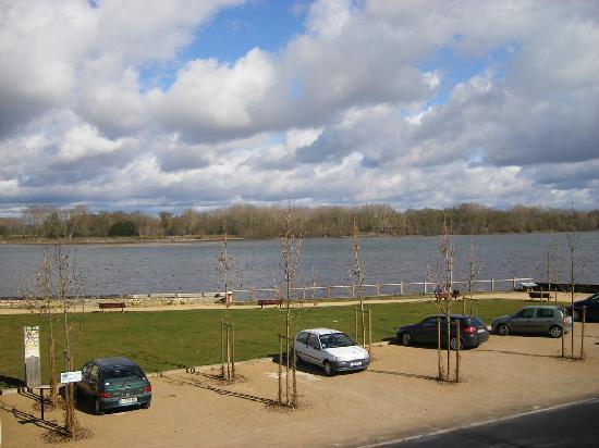 La Laurencie : view on the river Loire