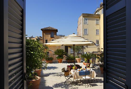 Hotel Ponte Sisto: Panoramic Terrace Suite 4th Floor