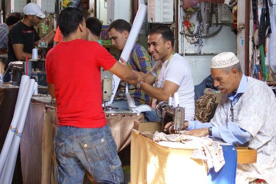 Agadir Kasbah: Souks Avd. Kleding