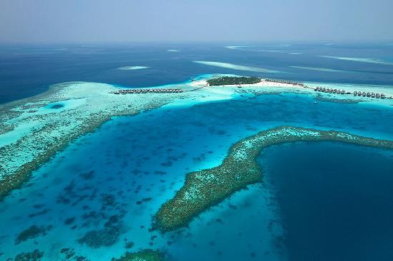 Constance Moofushi Resort, Maldives - Aerial View