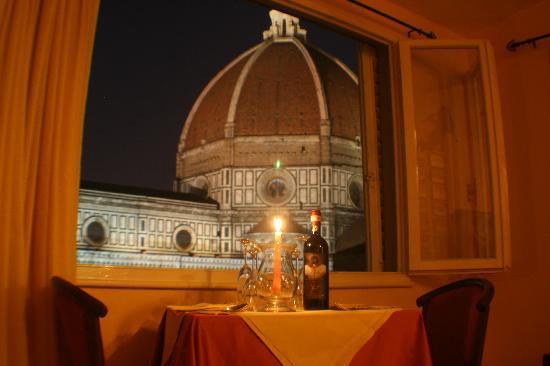 Hotel Villani: cena in mansarda