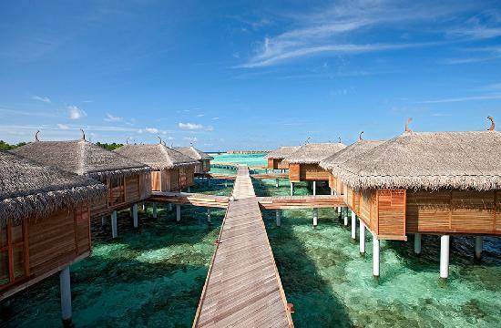 คอนสแตนซ์ มูฟูชิ รีสอร์ท-ออล อินคลูซีฟ: Constance Moofushi Resort, Maldives - Senior Water Villa