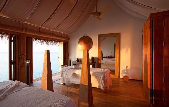 คอนสแตนซ์ มูฟูชิ รีสอร์ท-ออล อินคลูซีฟ: Constance Moofushi Resort, Maldives - Spa