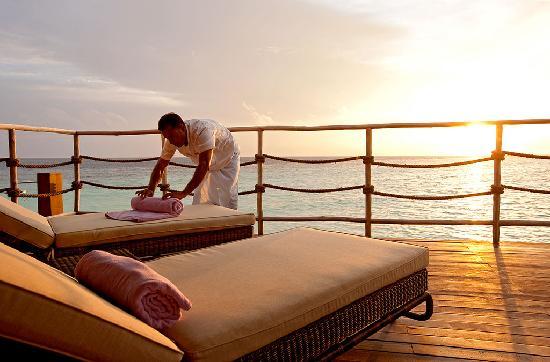 คอนสแตนซ์ มูฟูชิ รีสอร์ท-ออล อินคลูซีฟ: Constance Moofushi Resort, Maldives - Water Villa