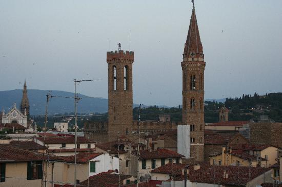 Hotel Villani: vista a sud - santa Croce