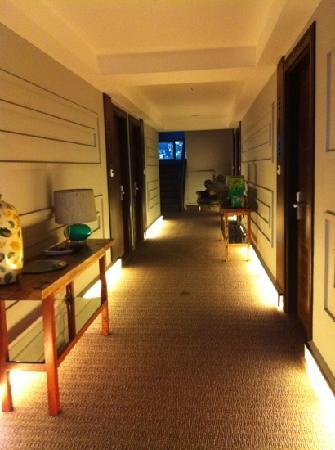 The Theodore Hotel: hallway