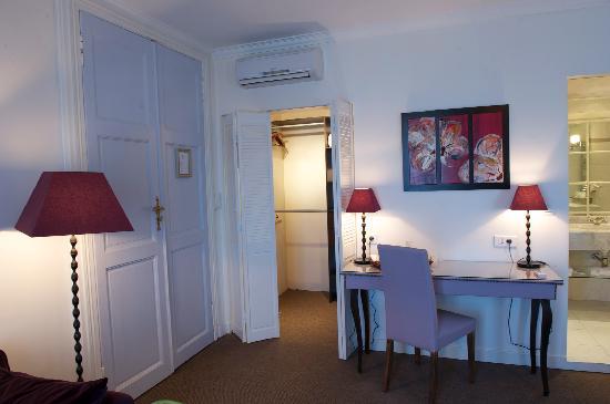 Villa Leopoldine : Grande dressing dans chaque chambre