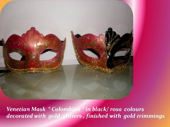 BB Boutique -  Cat Venetian Mask created in La Piccola Venezia