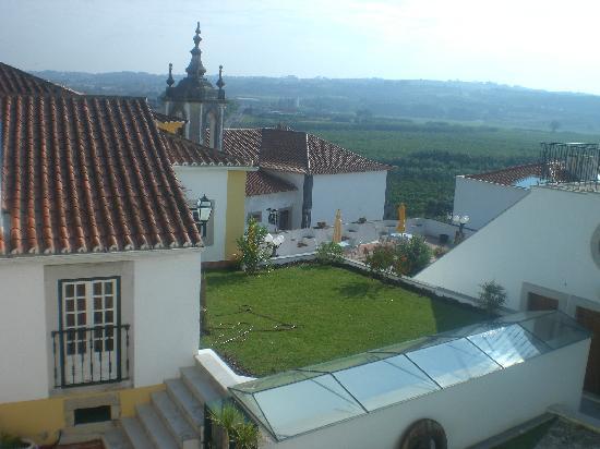 Hotel Real D'Obidos: Vista desde balcon hab 1