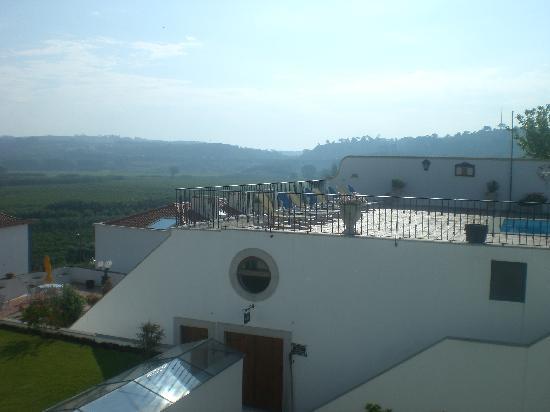 Hotel Real D'Obidos: Vista desde balcón hab 2