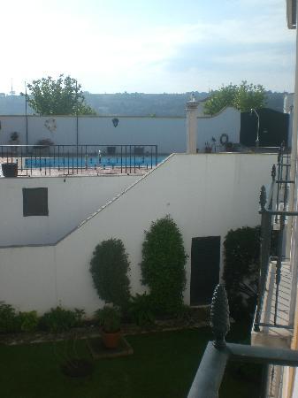 Hotel Real D'Obidos: Vista desde balcón hab 3