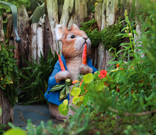 Bowness-on-Windermere, UK: Naughty Peter Rabbit
