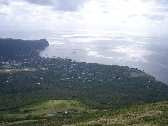 Hachijo-jima, Japonya: お鉢めぐり中の景色。