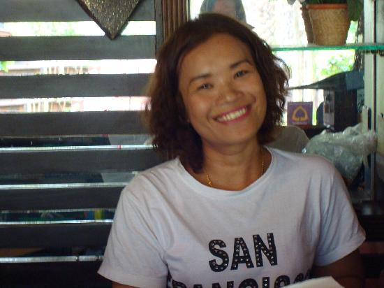 Baan Habeebee Resort: Mac The lovely Manager