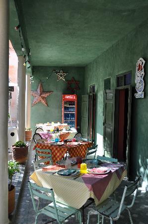 Fez cafe at le jardin des biehn fes restaurant reviews for Cafe le jardin marrakech
