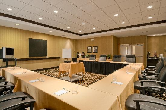 Homewood Suites Tulsa - South: The Broken Arrow Room can hold a meeting with up to 24 guests in a U-style setting.